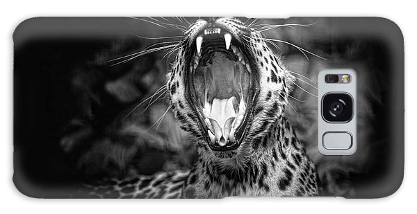 The  Leopard's Tongue Rolling Roar Galaxy Case