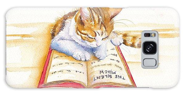 Calico Cat Galaxy Case - The Lesson by Debra Hall
