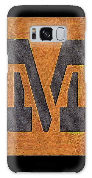 The Letter M Galaxy Case