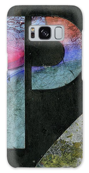 The Letter P Galaxy Case