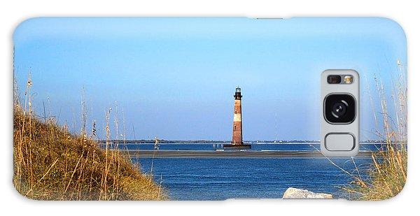 The Lighhouse At Morris Island Charleston Galaxy Case by Susanne Van Hulst