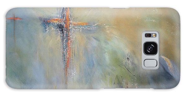 The Light Of Christ Galaxy Case