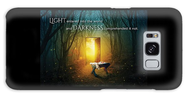 The Light Of Life Galaxy Case