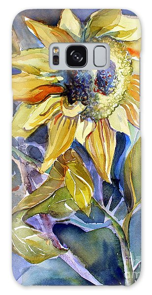 The Light Of Sunflowers Galaxy Case