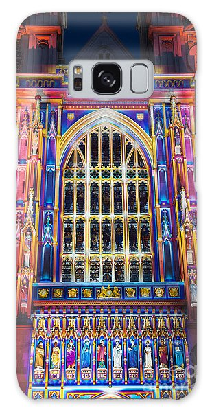 The Light Of The Spirit Westminster Abbey London Galaxy Case