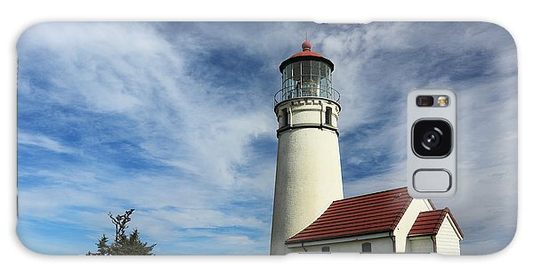 The Lighthouse At Cape Blanco Galaxy Case