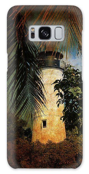 The Lighthouse In Key West Galaxy Case by Susanne Van Hulst
