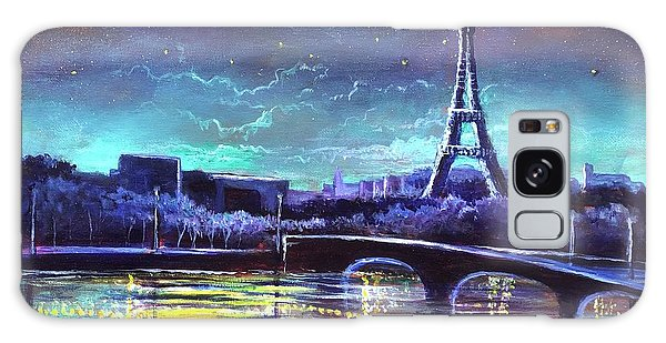 The Lights Of Paris Galaxy Case