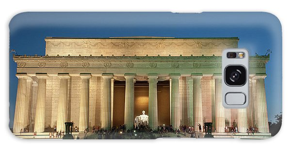 Galaxy Case featuring the photograph The Lincoln Memorial by Mark Dodd