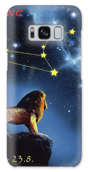 Galaxy Case - The Lion by Johannes Margreiter