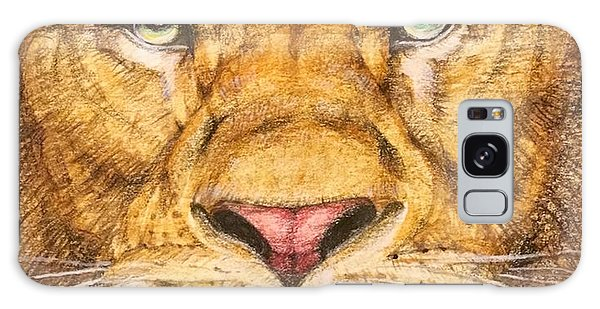Detail Galaxy Case - The Lion Roar Of Freedom by Kent Chua