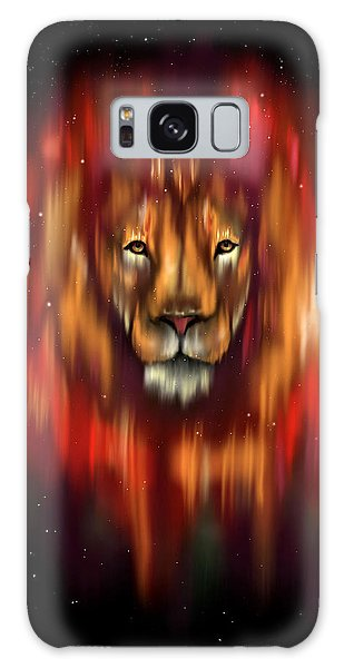 The Lion, The Bull And The Hunter Galaxy Case