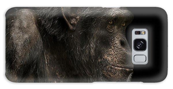 Chimpanzee Galaxy S8 Case - The Listener by Paul Neville