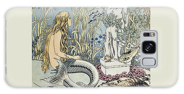 The Little Mermaid Galaxy Case by Ivan Jakovlevich Bilibin