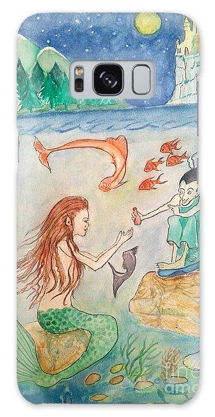 The Little Mermaid Galaxy Case
