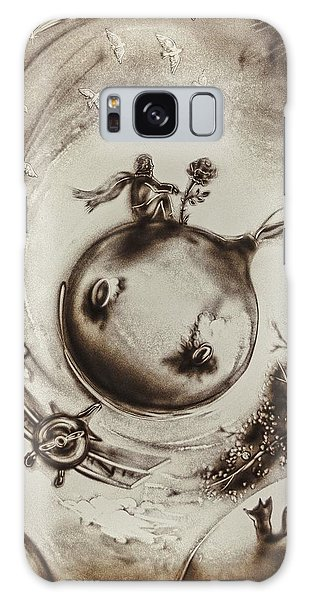The Little Prince Galaxy Case by Elena Vedernikova
