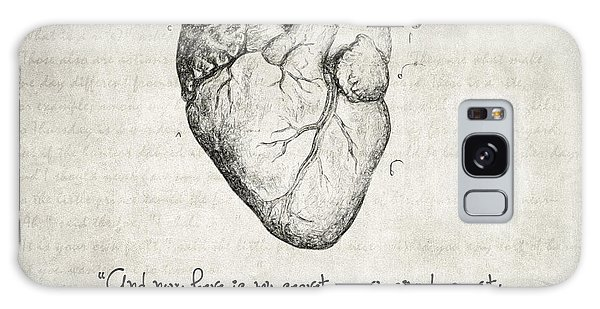 Heart Galaxy Case - The Little Prince Quote by Zapista Zapista