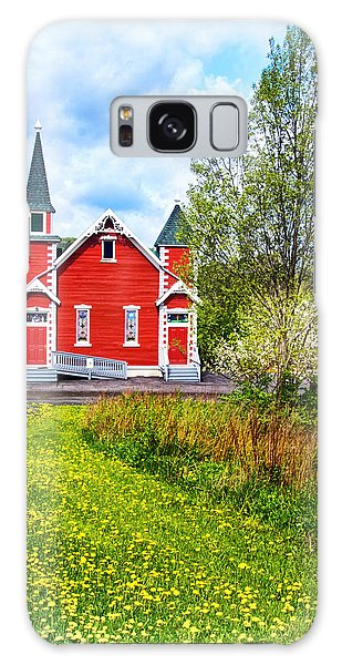 Wellsboro Galaxy Case - The Little Red Church In The Country by Carolyn Derstine
