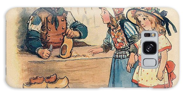 The Little Wooden Shoe Maker Galaxy Case