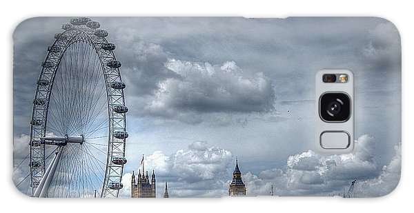 The London Eye And Skyline Galaxy Case