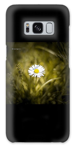 Galaxy Case featuring the photograph The Lonely Daisy by Stwayne Keubrick