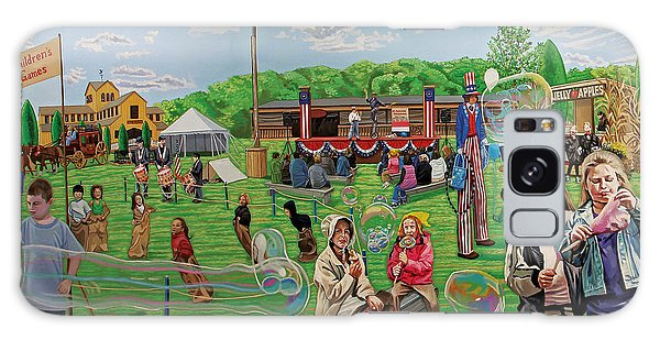 The Long Island Fair At Old Bethpage Restoration Galaxy Case by Bonnie Siracusa