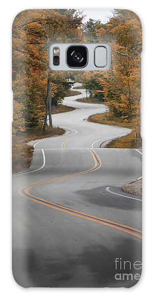 The Long Winding Road Galaxy Case