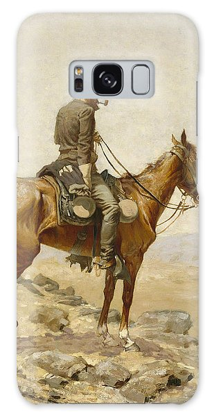 Horse Galaxy Case - The Lookout by Frederic Remington