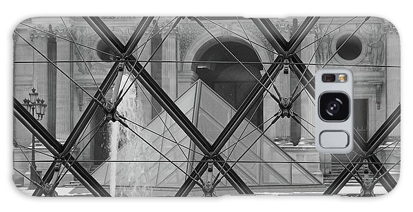 The Louvre From The Inside Galaxy Case