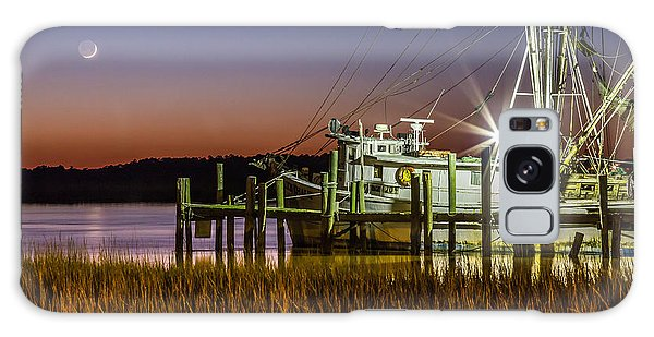 The Low Country Way - Folly Beach Sc Galaxy Case