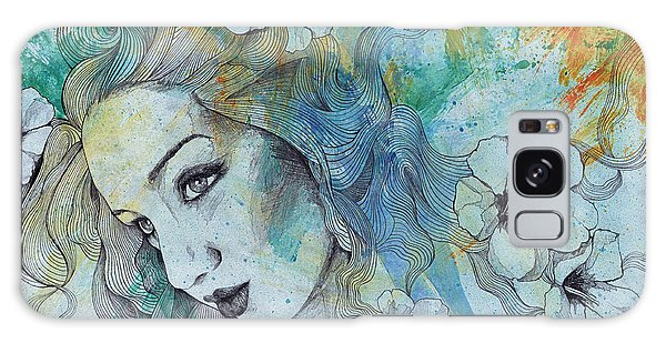 Beautiful Girl Galaxy Case - The Lowest Common Denominator by Marco Paludet