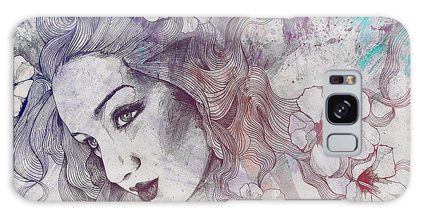 Beautiful Girl Galaxy Case - The Lowest Common Denominator - Rainbow by Marco Paludet