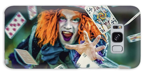 Galaxy Case featuring the photograph The Mad Hatter Alice In Wonderland by Dimitar Hristov