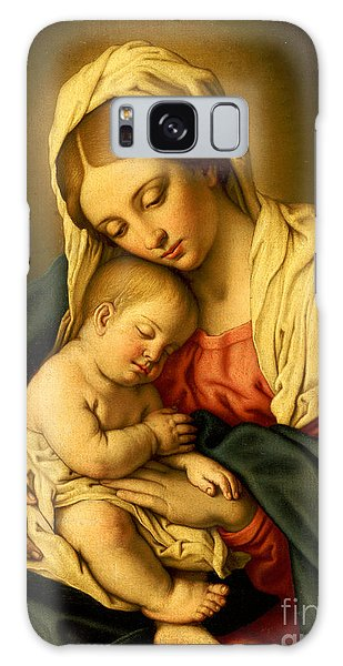 Religious Galaxy Case - The Madonna And Child by Il Sassoferrato