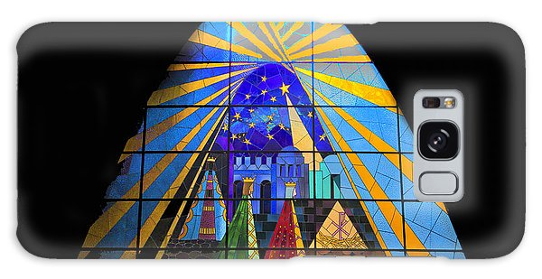 The Magi In Stained Glass - Giron Ecuador Galaxy Case