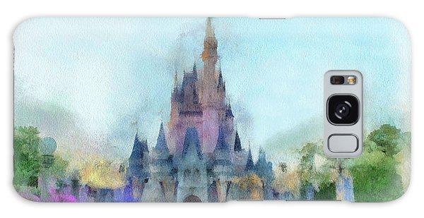 The Magic Kingdom Castle Wdw 05 Photo Art Galaxy Case