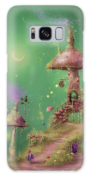 The Mushroom Gatherer Galaxy Case