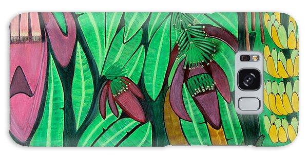 The Magic Of Banana Blossoms Galaxy Case by Lorna Maza