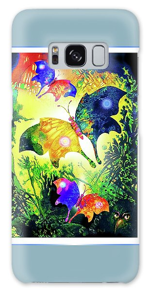 The Magic Of Butterflies Galaxy Case