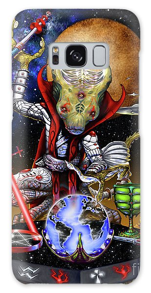 The Magician 78 Tarot Astral Card Galaxy Case by Stanley Morrison