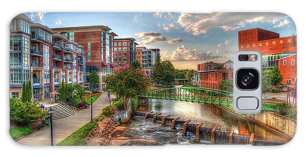 The Main Attraction Reedy River Greenville South Carolina Art Galaxy Case