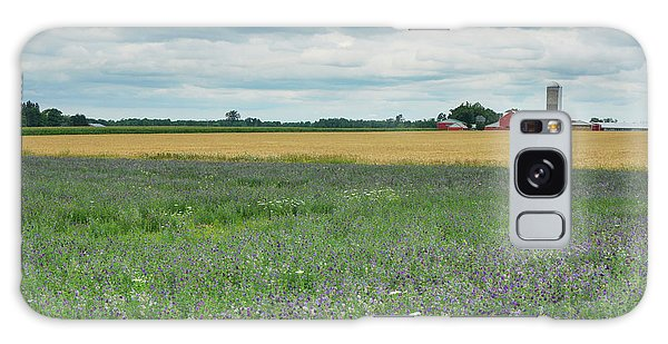 Farming Landscape Galaxy Case