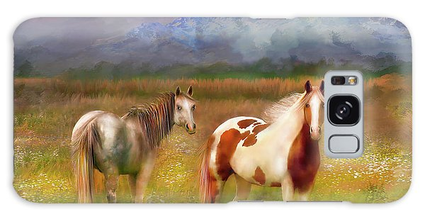 The Majestic Pasture Galaxy Case