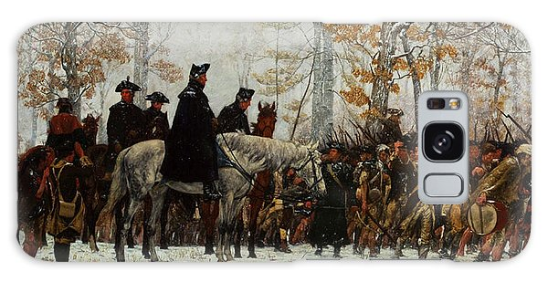 March Galaxy Case - The March To Valley Forge, Dec 19, 1777 by William Trego