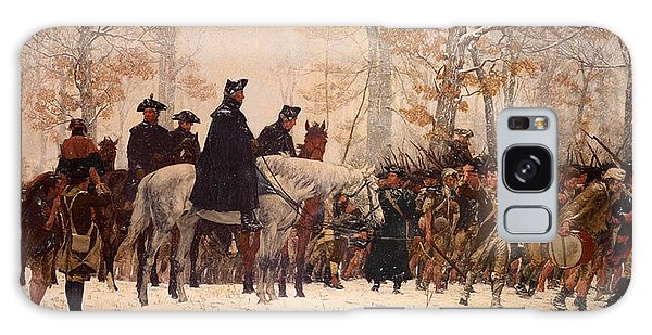 The March To Valley Forge Galaxy Case