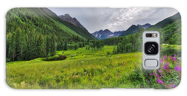 The Maroon Bells - Maroon Lake - Colorado Galaxy Case