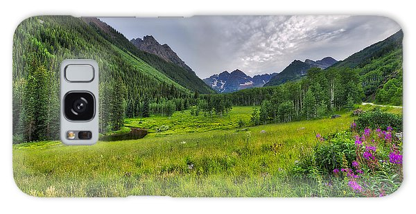 The Maroon Bells - Maroon Lake - Colorado Galaxy Case