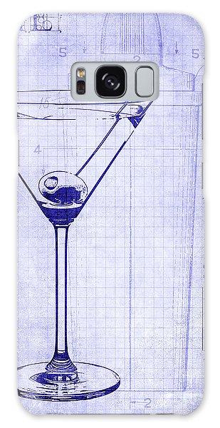 The Martini Blueprint Galaxy Case