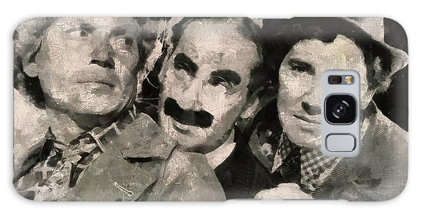 Brothers Galaxy Case - The Marx Brothers by Mary Bassett