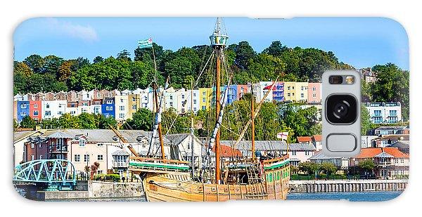 The Matthew In Bristol Harbour Galaxy Case